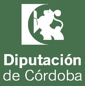 Logotipo Diputación blanco